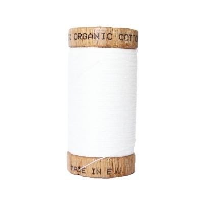 GOTS sewing thread · Off-white · 100 meters