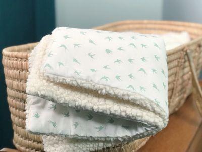 couverture en peluche pour enfant