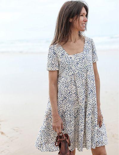 Patron robe femme astree